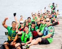The Faces of Dragon Boat